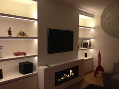 "The Bio Flame 38"" Ethanol Firebox SS"