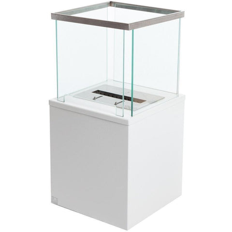 Bio Blaze Column Small Free Standing Ethanol Fireplaces - eFireplaceDirect.com