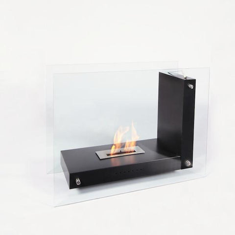 "The Bio Flame Allure - 47"" Free Standing Ethanol Fireplace"