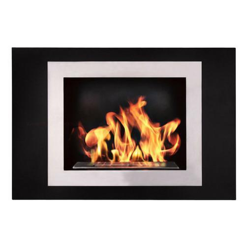 "The Bio Flame Fiorenzo - 33"" UL Listed Wall Mounted Ethanol Fireplace"