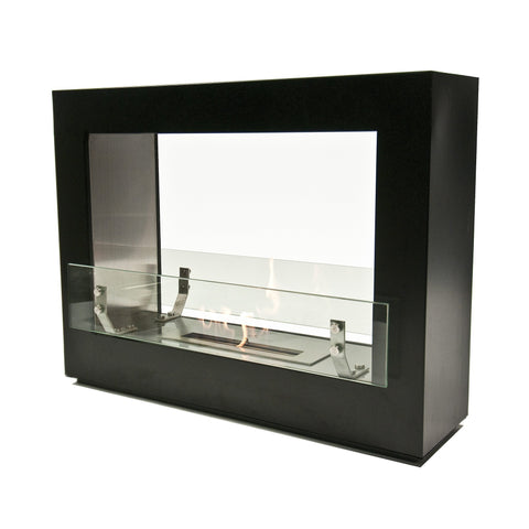 "The Bio Flame Rogue 2.0 - 36"" UL Listed Free Standing Ethanol Fireplace"