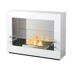 "The Bio Flame Rogue 2.0 Single Sided - 36"" UL Listed Free Standing Ethanol Fireplace"