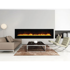 Amantii Wall Mount / Flush Mount-WM-FM-88-10023-BG Built-In Electric Fireplace