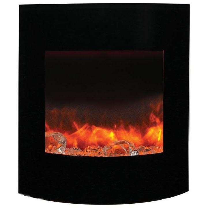 Amantii Zero Clearance Series-WM-BI-2428-VLR-BG-Wall Mount Electric Fireplaces - eFireplaceDirect.com