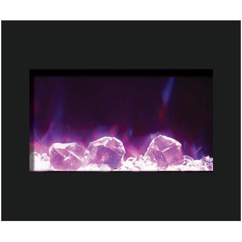 Amantii Zero Clearance Series-ZECL-30-3226-BG-Built-In Electric Fireplaces - eFireplaceDirect.com