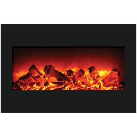 Amantii Zero Clearance Series-ZECL-33-3624-BG-Built-In Electric Fireplaces - eFireplaceDirect.com