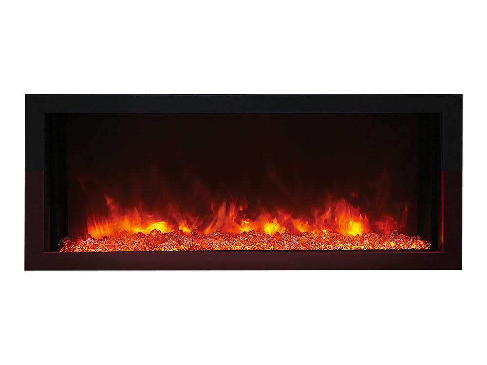 Amantii Panorama Built-in Series BI-40XTRASLIM Electric Fireplace