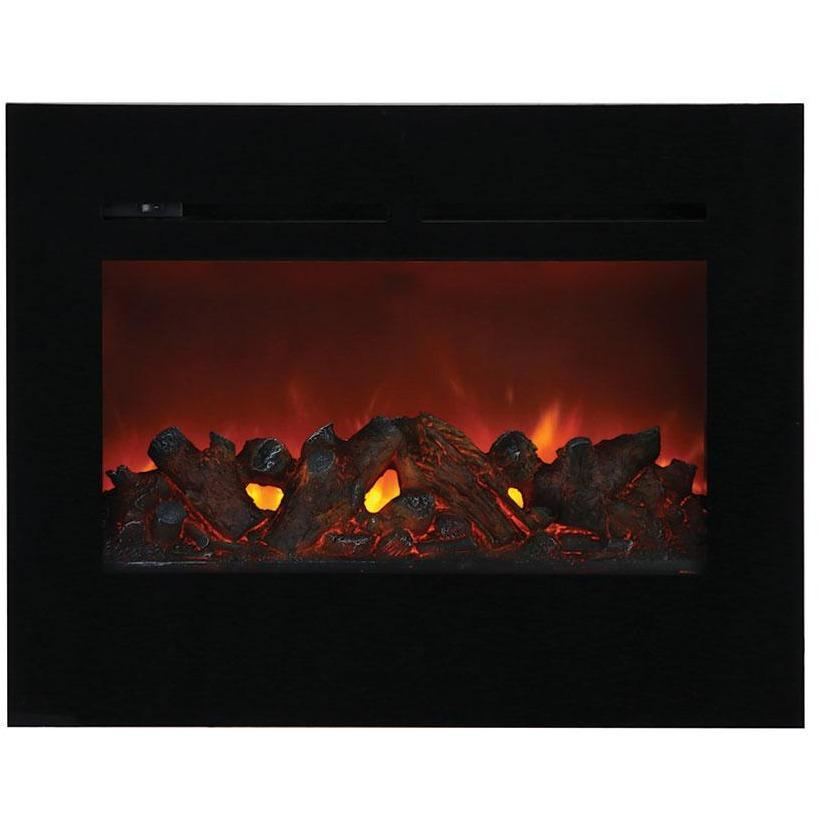 Amantii Zero Clearance Flush Mount Series -ZECL-30-3226-FM-BG-Built-In Electric Fireplaces - eFireplaceDirect.com