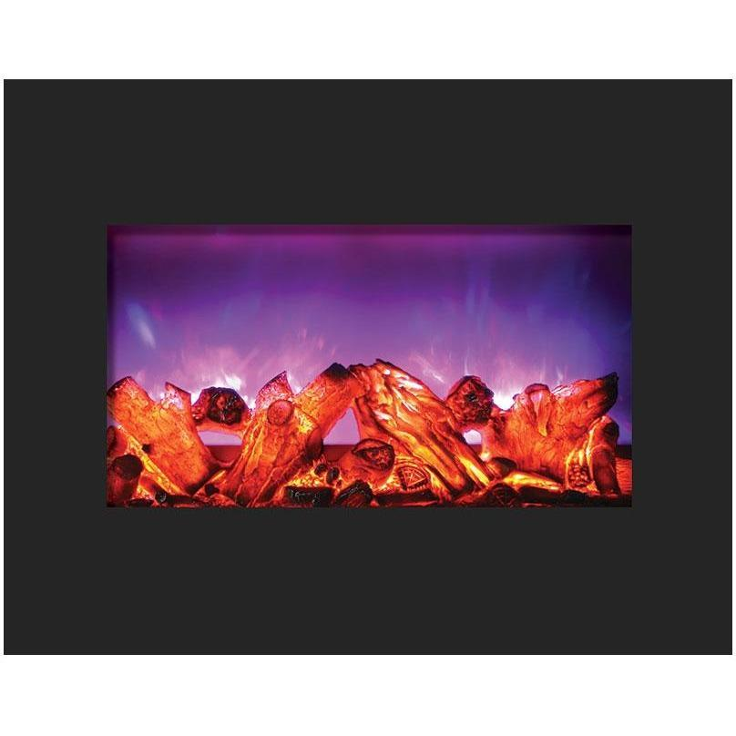 Amantii Zero Clearance Series-ZECL-26-2923-BG-Built-In Electric Fireplaces - eFireplaceDirect.com