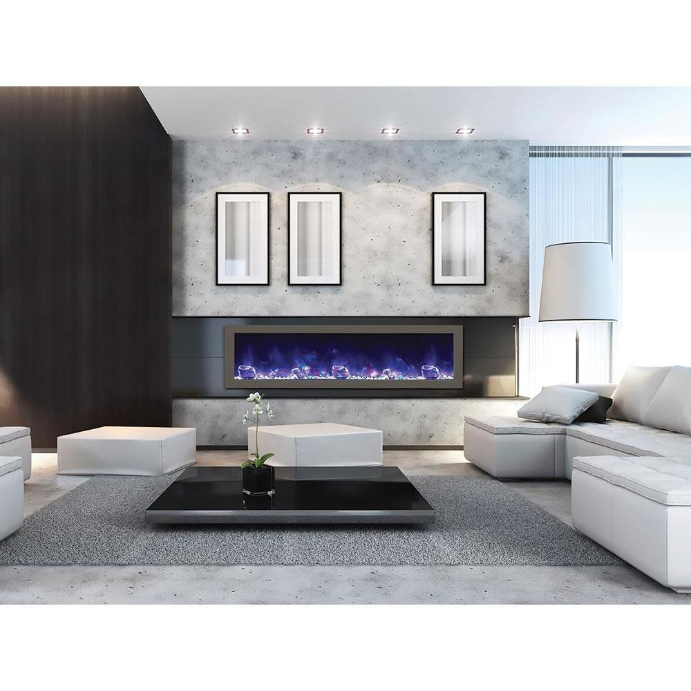 Amantii Panorama Slim  Series-BI-60-SLIM-Built-In Electric Fireplaces - eFireplaceDirect.com