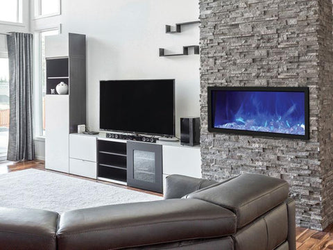 Panorama Built-in Series BI-40-SLIM-OD Electric Fireplace