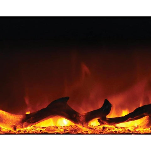 Amantii Zero Clearance Square Series -ZECL-31-3228-STL-SQR-Built-In Electric Fireplaces - eFireplaceDirect.com