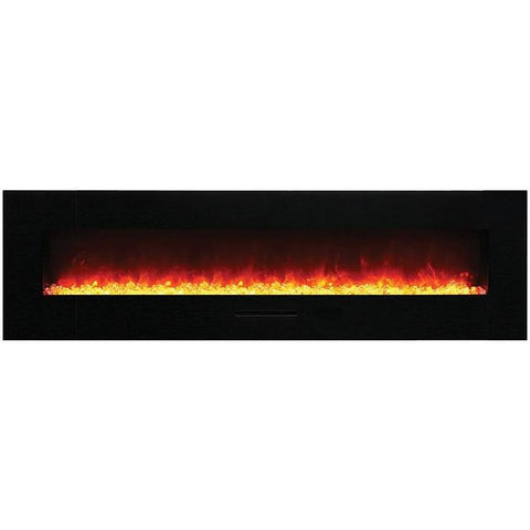 Amantii Wall Mount / Flush Mount Series-WM-FM-72-8123-BG-Wall Mount Electric Fireplaces - eFireplaceDirect.com