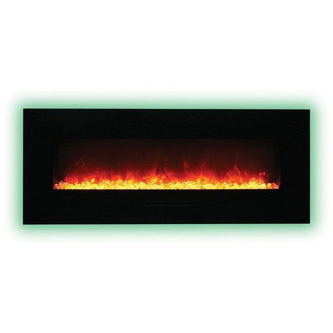 Amantii Wall Mount / Flush Mount Series-WM-FM-48-5823-BG-Wall Mount Electric Fireplaces - eFireplaceDirect.com