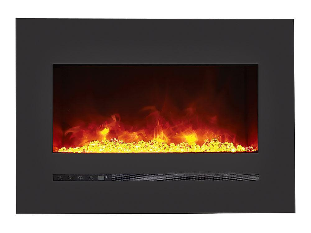 Siera Flame Wall Mount / Built-in Series WM-FML-26-3223-STL Electric Fireplace