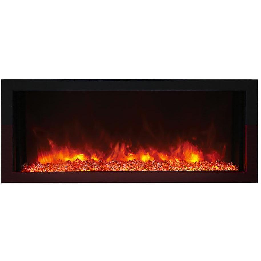 Amantii Panorama Extra Slim Series-BI-40-XTRASLIM-Built-In Electric Fireplaces - eFireplaceDirect.com