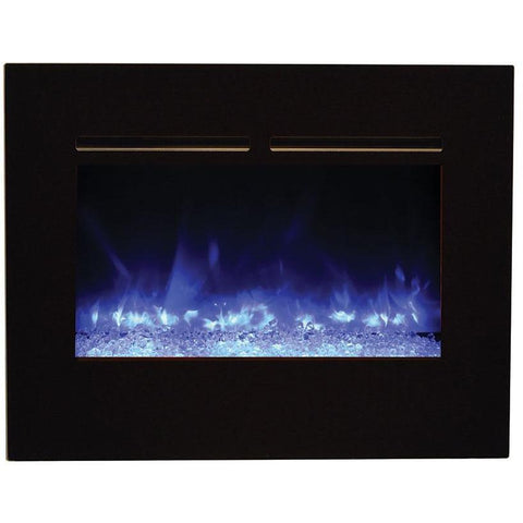 Amantii Zero Clearance Flush Mount Series-ZECL-26-2923-FLUSHMNT-BG-Built-In Electric Fireplaces - eFireplaceDirect.com