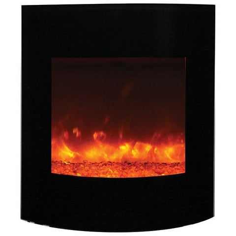 Amantii Zero Clearance Series-WM-BI-2428-VLR-BG-Built-In Electric Fireplaces - eFireplaceDirect.com