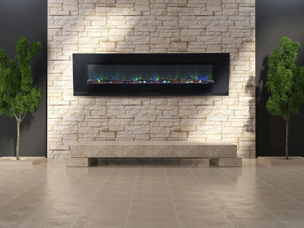 "Touchstone ValueLine 72 80019 72"" Recessed Electric Fireplace"