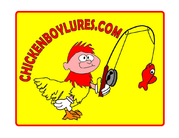 Chickenboy Fishing Logo