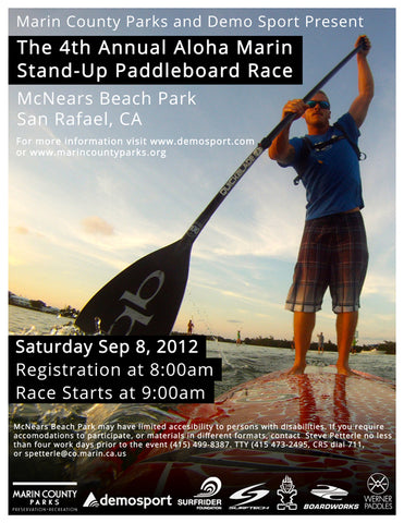 The 4th Annual Aloha Marin SUP Race