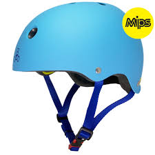 21 Triple Eight Dual MIPS Hyper Blue Matte