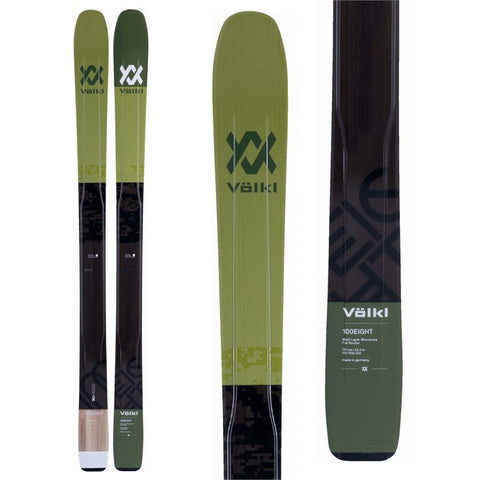 Volkl 100Eight Skis 2018