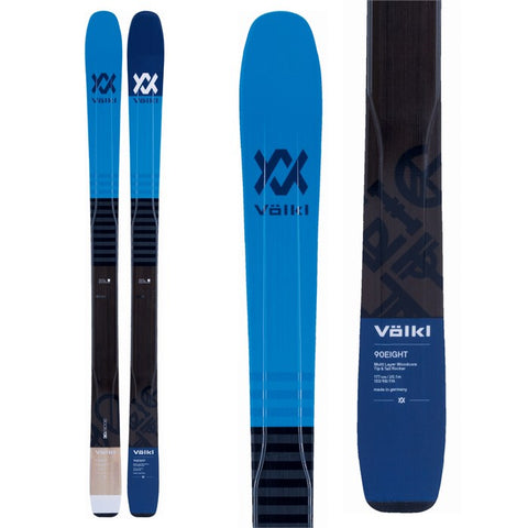 Volkl 90Eight Skis Men's 2018