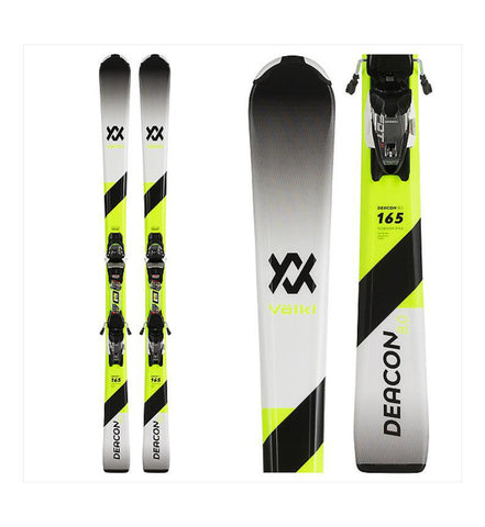 Volkl Deacon 8.0 Skis +FDT 10 Bindings 2020
