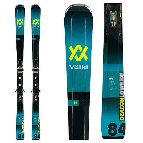 Volkl Deacon 84 Skis +Lowride XL Bindings 2020