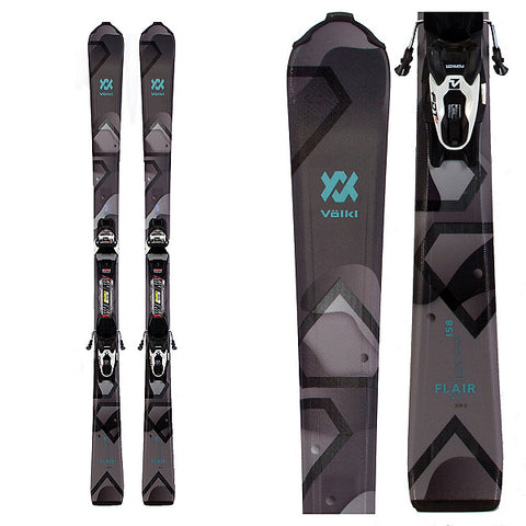 Volkl Flair 8.0 Skis +FDT TP10 Bindings Women's 2020