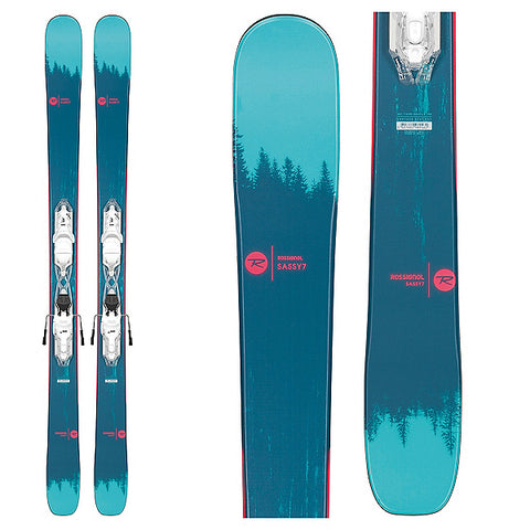 Rossignol Sassy 7 Skis with Xpress 10 Bindings Women's 2020