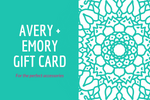 Avery + Emory Gift Card is the perfect gift idea for her! - Avery + Emory Designs