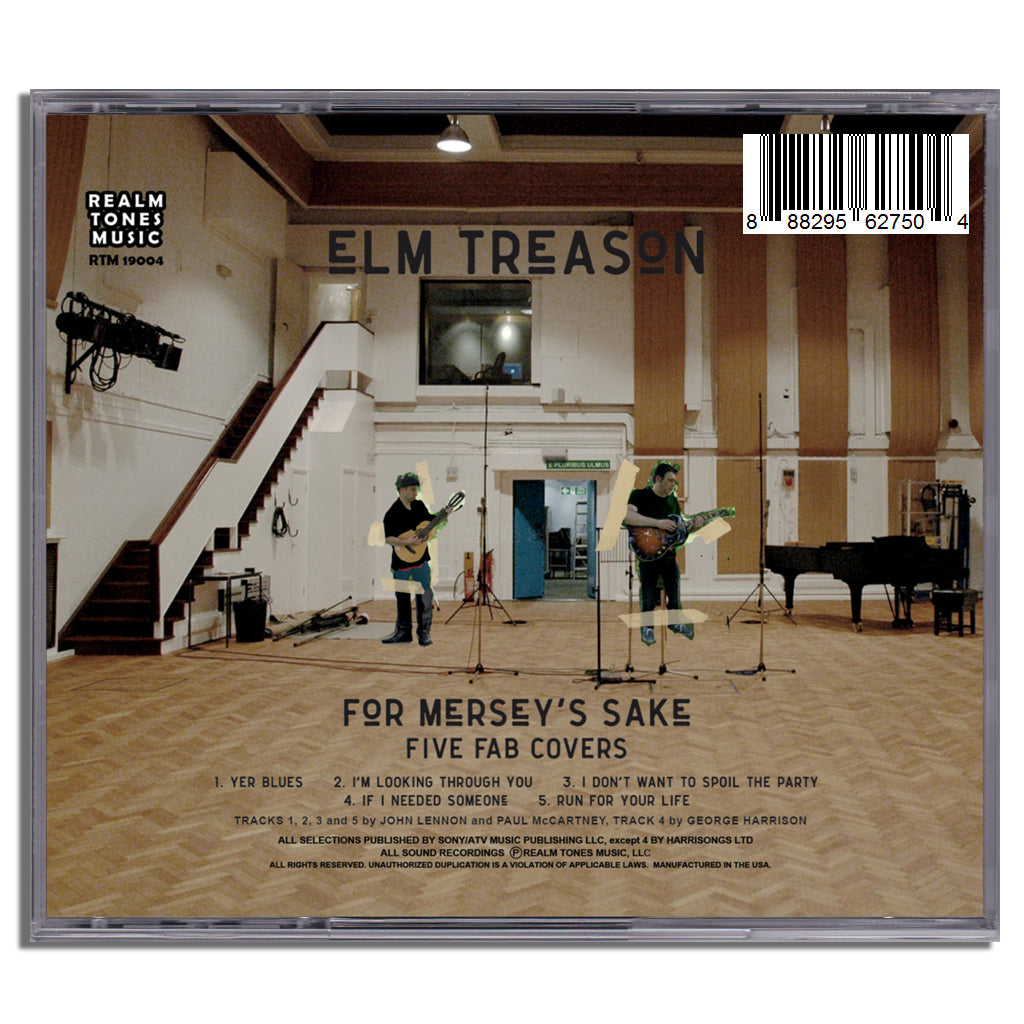 For Mersey's Sake CD (Physical)