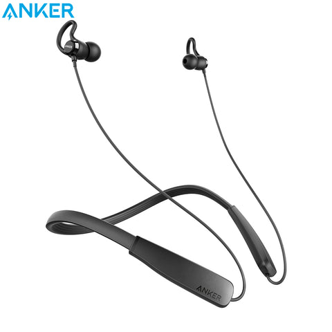 Anker SoundBuds Lite Bluetooth Headphones Built-in Mic Wireless Lightweight Neckband Headset IPX5 Water Resistant Sport Earphone