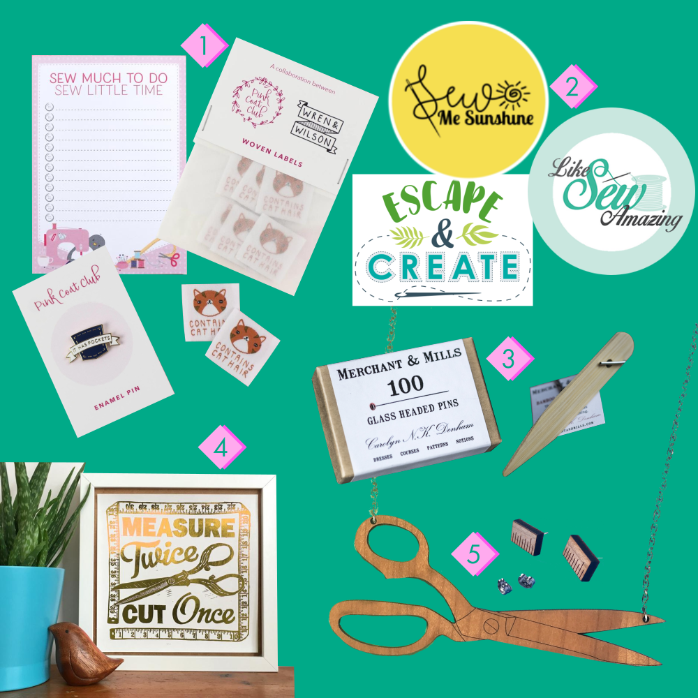 My Gift Guide for Sewists for Cepheid Studio