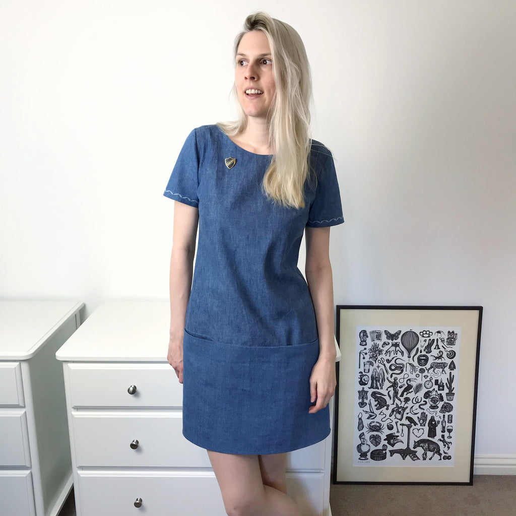 nina lee carnaby dress