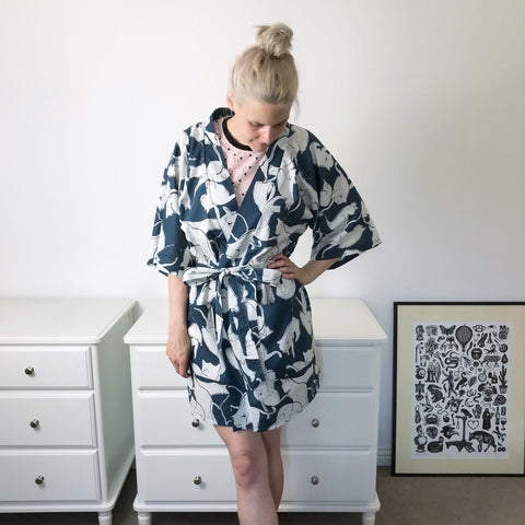self drafted robe