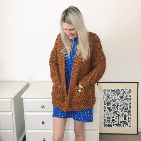 wool and the gang wooly young thing cardigan