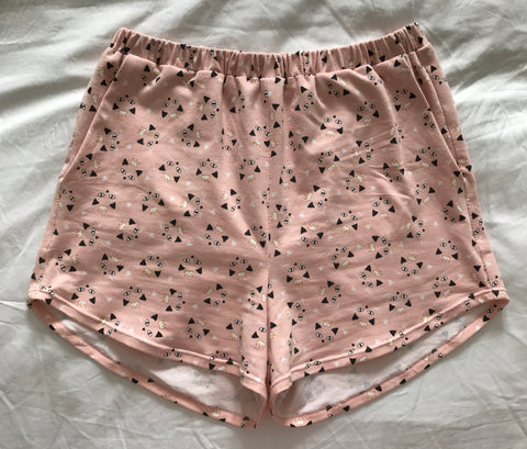 peppermint magazine spring shorts