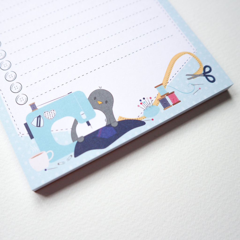 Sew Much To Do Notepad - Blue (Sian x PCC)