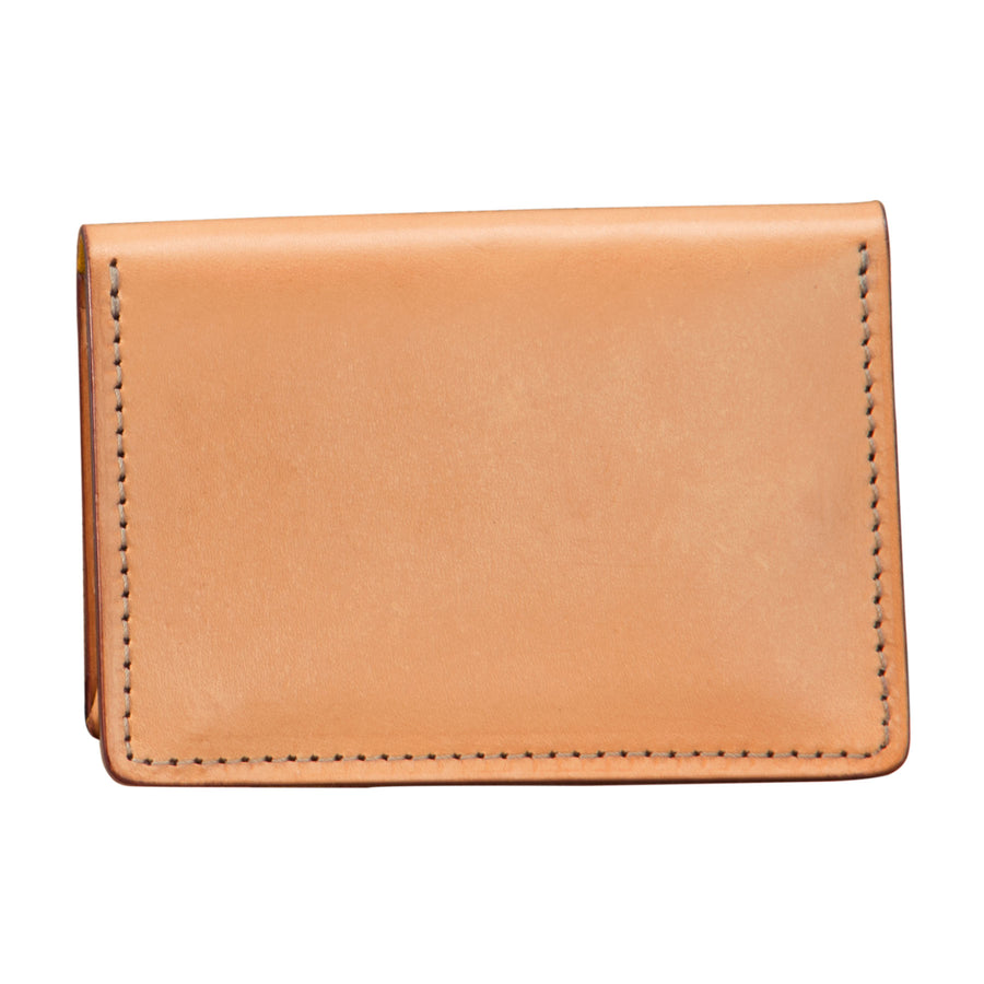 Five Pocket Card Holder: Hand-Burnished Leather