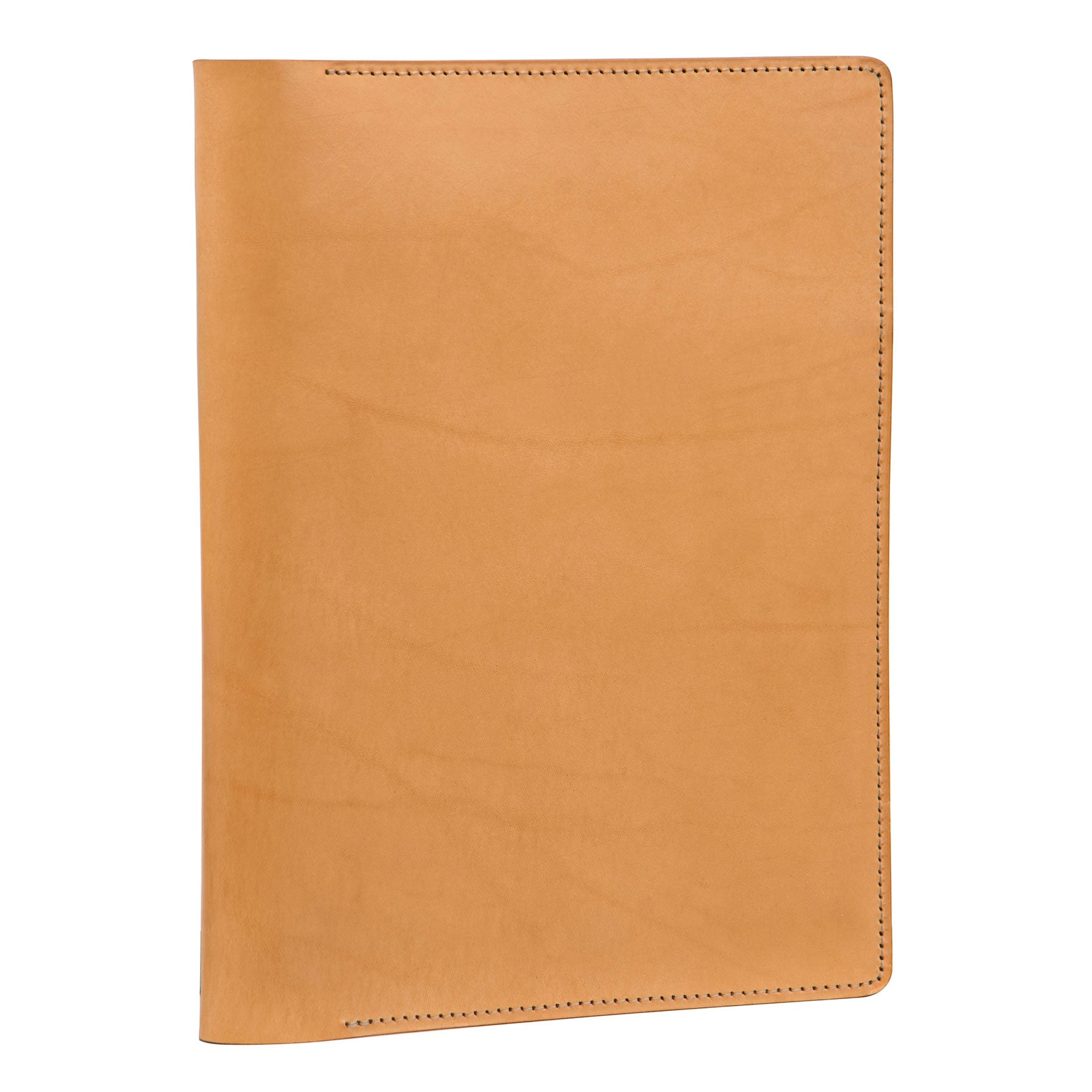 iPad® Journal / B5  Notebook Tablet Cover: hand-burnished leather