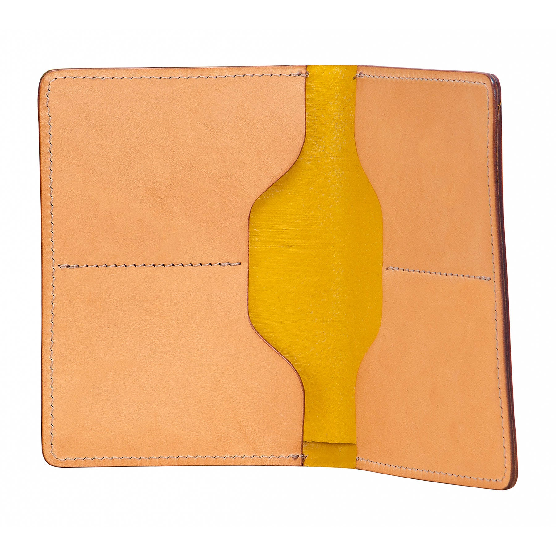 M-Wallet and Passport Wallet: Hand-Burnished Leather