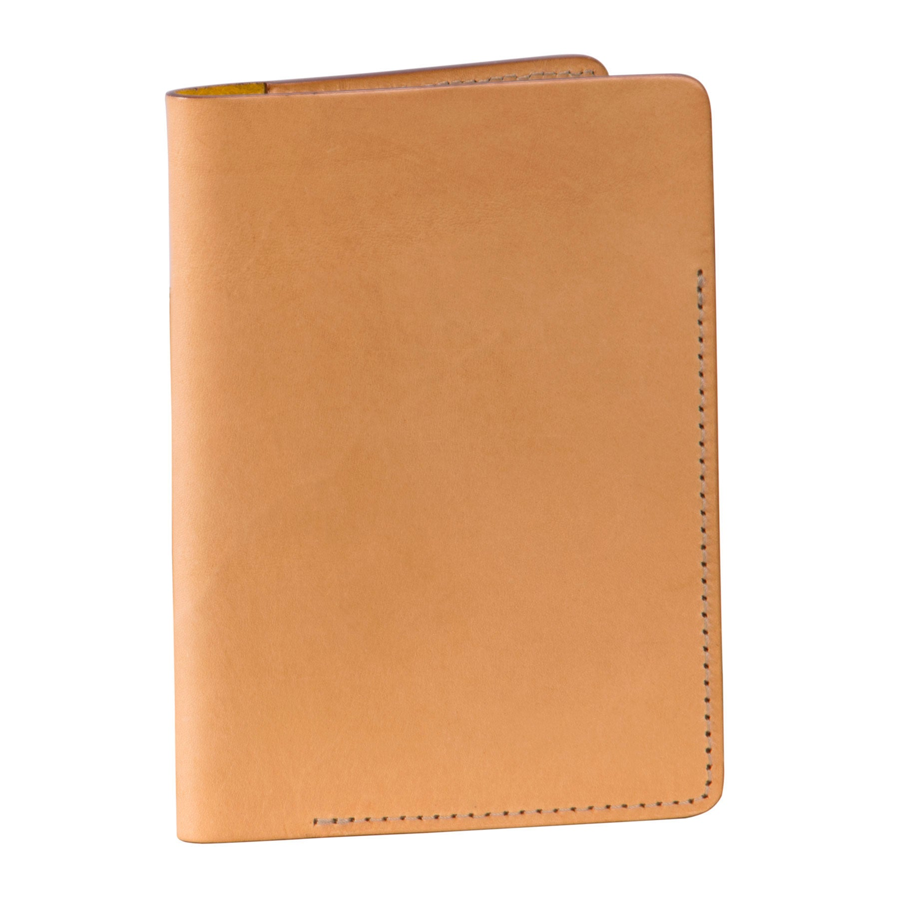 Passport Holder: hand-burnished leather