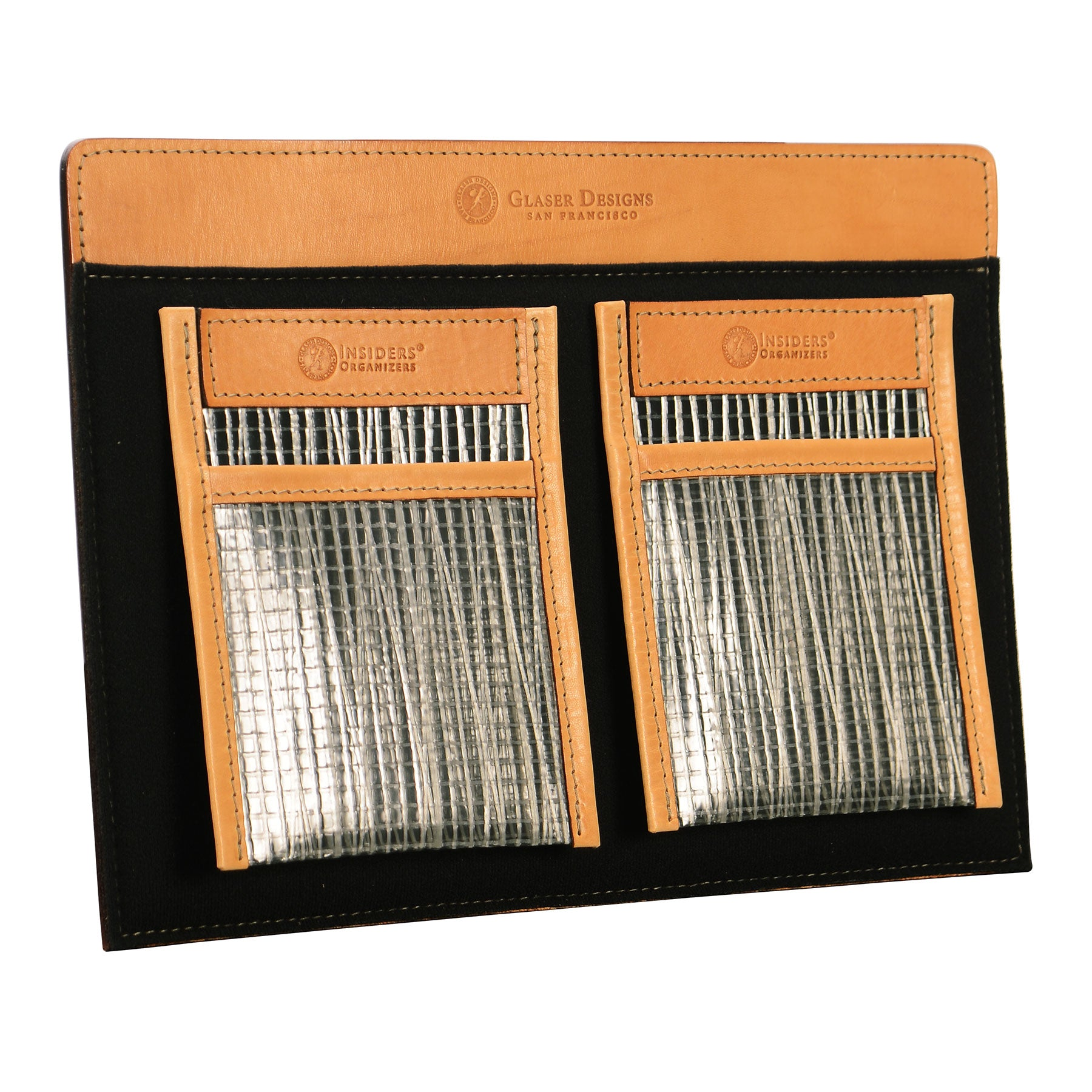 Shirt Pocket Organizer: hand-burnished leather
