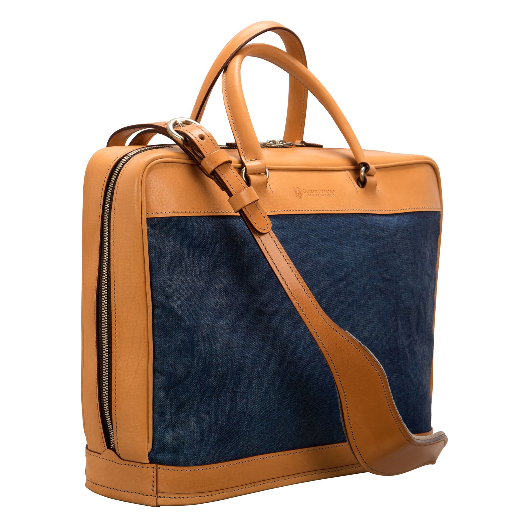*Platform Portfolio: Hand-Painted Linen and Hand-Burnished Leather