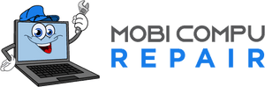 iPhone repair in Brooklyn MobiCompu Repair logo
