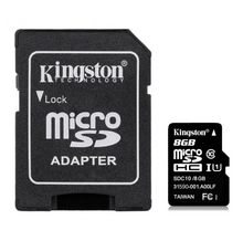 Load image into Gallery viewer, Kingston 2Pcs Mini Micro SD Card 8G Class 4  Memory Cards & SIM Cards repaircellphonemobicompu.com MobiCompu Repair Online Store