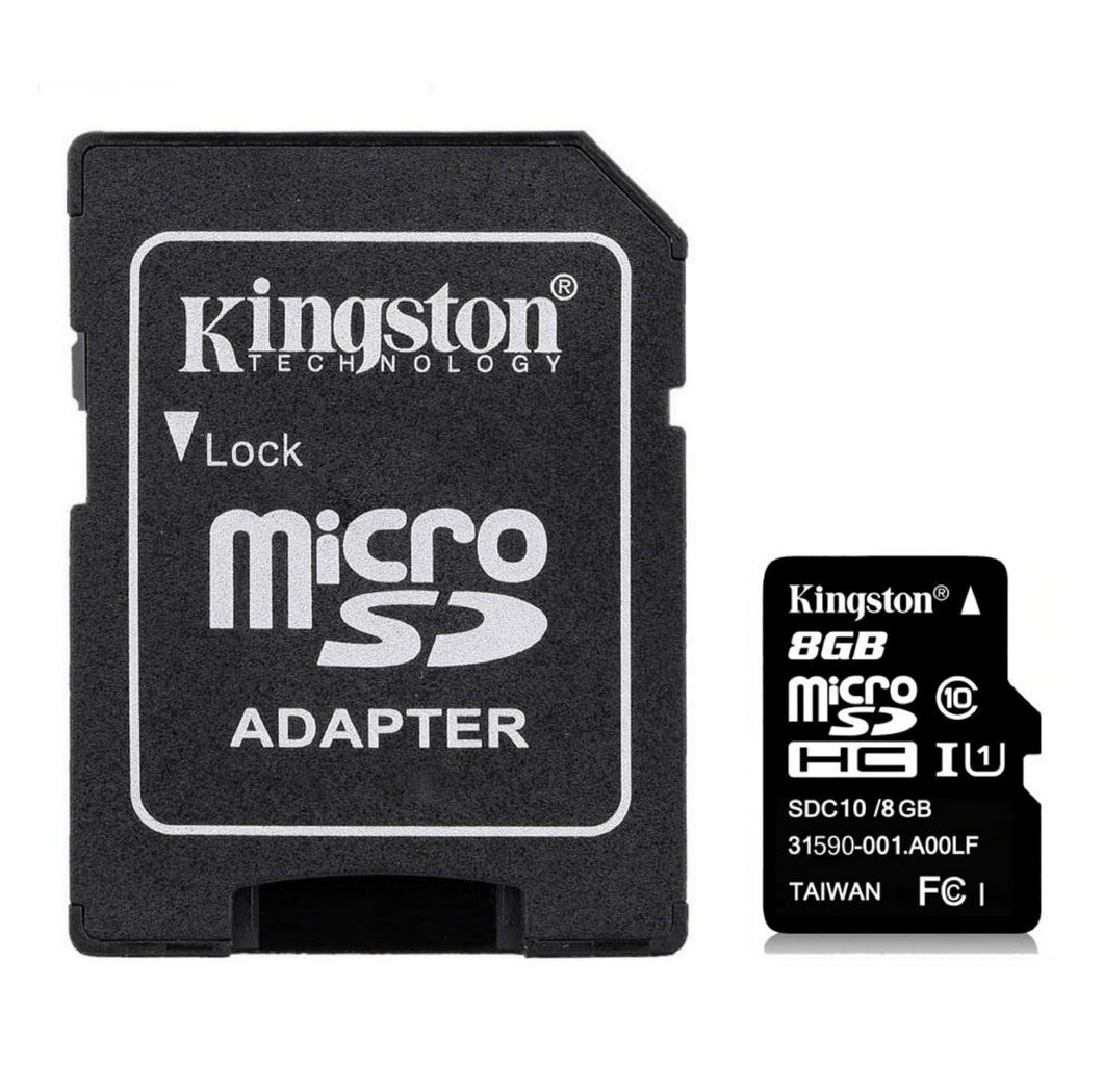 Kingston 2Pcs Mini Micro SD Card 8G Class 4  Memory Cards & SIM Cards repaircellphonemobicompu.com MobiCompu Repair Online Store